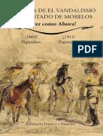 Historia de Vandalismo En El Estado De Morelos