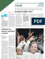 A repressão política em Cuba