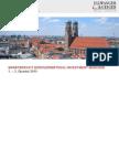 DER MARKTBERICHT MÜNCHEN, 1. - 3. Quartal 2015