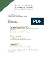 Wirid Bismillah &Asma Al-Qawi Untuk Kekuatan Diri_Sh