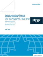 Guide to International Financial Reporting Standards in Canada IAS 16 Property Plant and Equipment