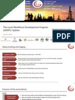 ICV Oman PMO - Local Workforce Development Program_ Update - 20140604 F