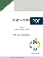 Design Modelling
