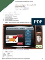 Mrunal Emotional Intelligence_Meaning,Benefits,Models,Case Studies