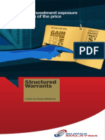 Structured Warrants