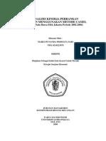 Analisa Kinerja Perbankan Dengan CAMEL