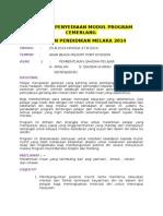 Bengkel Penyediaan Modul Program Cemerlang Jabatan Pendidikan Melaka 2