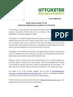 Uttoxeter Racecourse Marston's Beer Festival Raceday