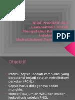 Nilai Prediktif Dari Leukositosis Untuk Mengetahui Komplikasi Infeksi Ppt