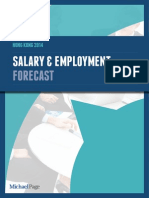 Hong Kong 2014 Salary Forecast Report