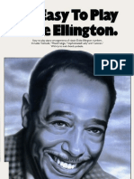 Duke Ellington - It's Easy to Play Duke Ellington