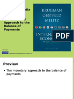 Monetary Approach to BOP or IS-LM Model