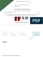 Acordes de Piano de C Novena Sus 4_ C Acordes 9 Sus4