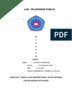 MAKALAH  PELAYANAN PUBLIK.docx
