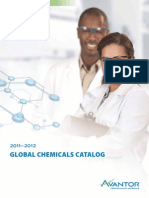 Avantor Global Chemicals Catalog 2011-2012