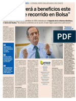 Ignacio de Colmenares, CEO y Vicepresidente de Ence Energía y Celulosa