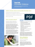 Domestic Violence Tool Kit