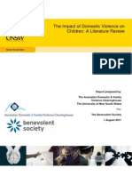 Impact of Domestic Violence on Children