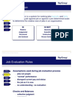 Job Evaluation - By HAY
