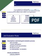 Job Evaluation - By HAY