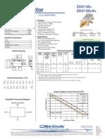 data sheet power detector