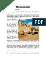 Excavation - Final Report
