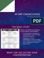 ap art crashcourse