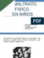 EL MALTRATO FISICO NIN¦âOS