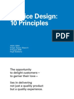 18541440 10 Principles of Service Design Dubberly