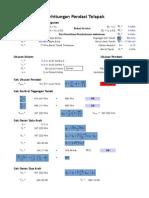 Rebar Pad Footing Calculation