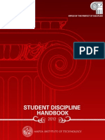 2012 Student Discipline Handbook