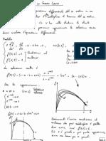 Strato Limite - Modello Matematico