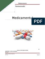 MEDICAMENTUL.doc