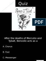 romeo   juliet quiz 9d