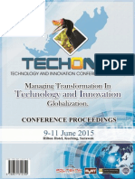 E-conference Proceedings Techon2015 Hilton