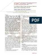 Comparative Study of Effect of Silica Fume and Quarry Dust