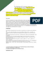 RESUMEN de Estudios Ecologicos de Camu