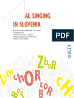 Choral Singing Slovenia