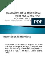 Traducción en La Informática