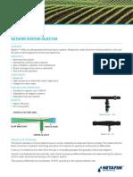 Netafim-Venturi Injector 2014
