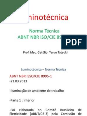BAIXAR 8995-1 NBR ISO