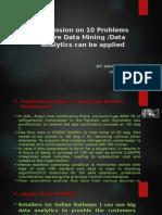 3 - Data Analytics - Example Problems - Nagaraj NB - Rev 0.pptx