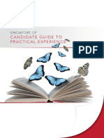 Candidate Guide to Practical Experience