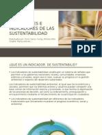 Dimensiones e Indicadores de Las Sustentabilidad Tarea