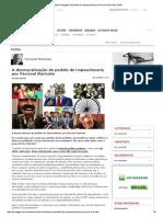 A Desmoralização Do Pedido de Impeachment, Por Percival Maricato _ GGN