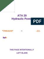 Airbus 29 A300 A310 Hydraulics