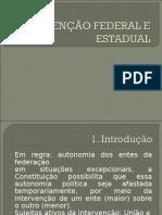 Intervenção Federal e Estadual(1)