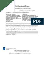 Planificacion Historia 6º (Democracia)