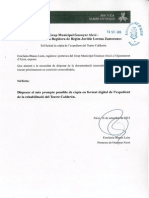 Sol·licitud d'accés i còpia dels informes del Calderón i Bulevard i resposta.