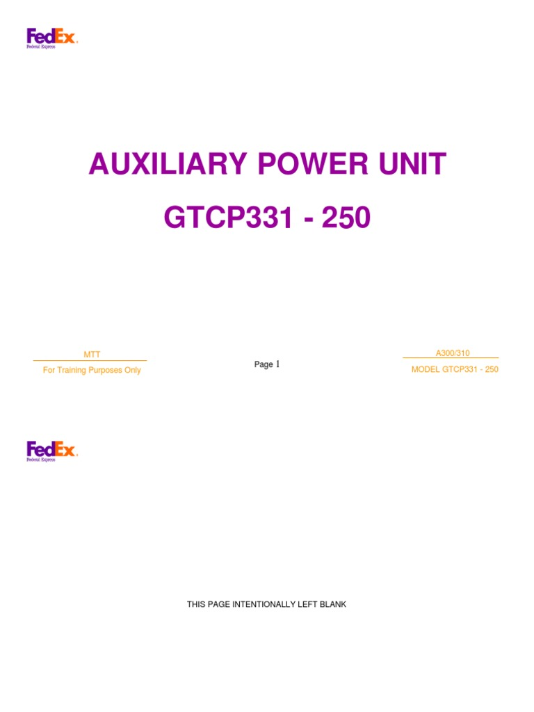 airbus 49 a300 a310 auxiliary power unit apu valve gas compressor rh scribd com AABB Technical Manual Technical Document Example
